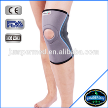 KN-8801 Sport fitness neoprene knee support with front open for basketball
