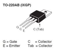 IXYS IXGP16N60C2 for Lamp Ballasts 16A 600V IGBT Transistor