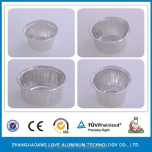 Shrink Wrap Mini Round For Jam Packing Aluminum Food Storage Container