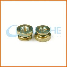 China manufacturer best price stainless steel flat head closed end rivet nut
