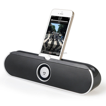 portable bluetooth wireless rechargeable bettery view cradle stereo speaker for cell phone , tablet