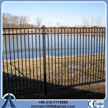 Powder coating garden arch wrought iron fence