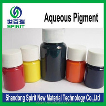 water based colorant red/blue/yellow/black pigment