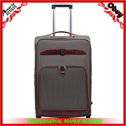 2015 Stock cheap promotional travel trolley luggage,EVA high quality cases
