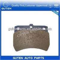back plate for brake pads