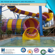2015 funny extreme water pool slides factory in china