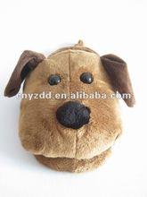 plush indoor slippers dog,plush flip flop dog,soft plush slippers