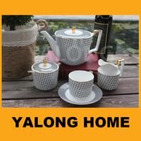 Grace Chinese Porcelain Tea Set, Tea ware Dinner Sets