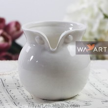 Ceramic Owl Shaped Vase Owl Figurine Vase Animal Shaped Vase