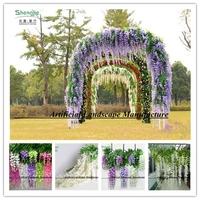 wisteria vine wall hanging decor,flower trees decor wisteria vine for wedding,