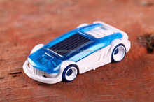 Funny small plastic kids solar toys interesting car for sale