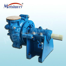 Free sample high quality lead&zinc mine 6 inches hydraulic slurry pump