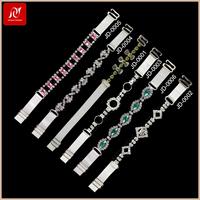 Fanscinating rhinestone jewelry handmade beaded bra strips wholesale