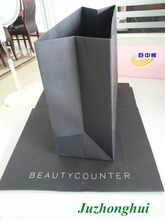 One side coated black paper board for luxury shopping bags
