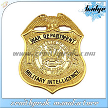 2014 New product gold eagle pin badges,canada military lapel pin badges,military shield pin badge