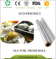 Food grade aluminum foil laminated paper for butter wrapping