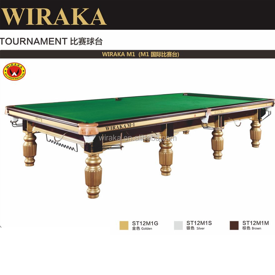Steel block tournament snooker table m1 buy snooker for 10ft x 5ft snooker table