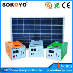 Hot AC 350W Green energy portable solar power system for small homes