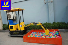 360 degree rotate kids mini digger, remote control mini digger for kids, entertainment children mini digger