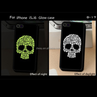 High Quality Cell Phone Skull Patterns TPU Bumper + PC Back Cover Case For All Kinds Of Mobile Phone