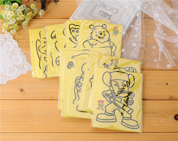 Игрушка для рисования 50sets/12,5 * 16,8 DIY 6 PT-08