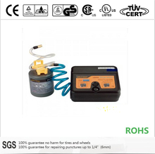 12V liquid tire sealant and tire inflator