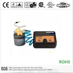 12V liquid tire sealant and tire inflator