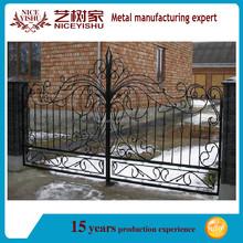 Hot selling modern sliding iron gate/steel gate design