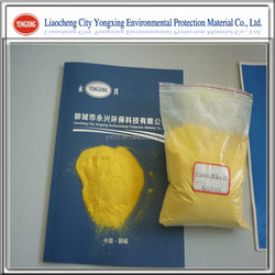 Yellow or light brown powder Polyaluminium Chloride 30% for drinkable water treatment