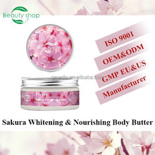 Herbal Sakura baby whitening body cream aqua moisturizing cream