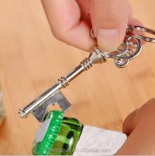 Most Popular Wedding favors key shape bottle opener for wedding/party/key wine opener/skeleton key bottle opener