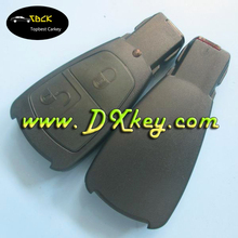 Old model 2 buttons car keys shell without logo for benz key cover 2 button mercedes key cover
