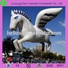2015 giant white inflatable horse with wings for show