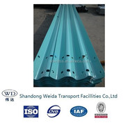 Highway road safety guardrail from shandong WeiDa traffic facility