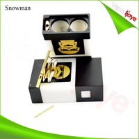 Low voltage drop authentic box mod snowman box mod ecigarette