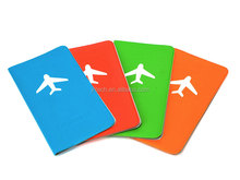 Fashion Elegant Plain silicone Card Holders/passport case/passport cover