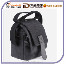 waterproof small canvas camera shoulder bag for man woman