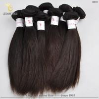 Wholesale Champion Top Grade Natural Color 100% Unprocessed premium blend hair weave