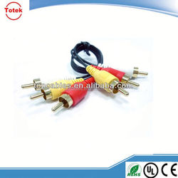 High Performance 3 RCA to 3 RCA Audio Video AV Cable
