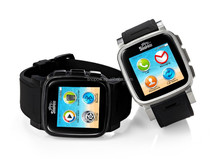snopow W1android4.4 stainless steel case waterproof transflective touch screen dual sim watch phone waterproof