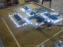 3D maquette factory planning model maker / scale model builder in China