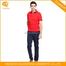 Polo Shirt Uniform, Fashion Blank Polo Shirt, Short Sleeves Polo