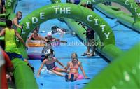 Giant inflatable slip n slide for summer