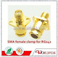 Micro 3G Antennas Str SMA Crimp rf cable connector