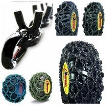 Alloy Double Diamond Studded Skidder chains