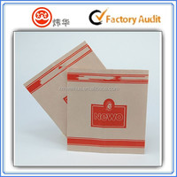 Eco-friendly frozen foods paper bag