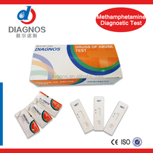 Hotsale!(MET) methamphetamine urine drug test kit/DOA MET rapid test device/drug of abuse test strip with nice quality