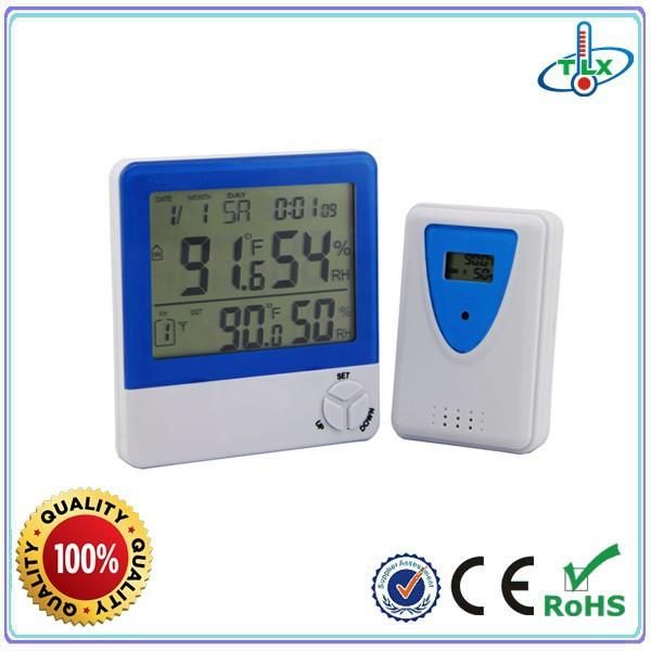 Calendar Clock Wallpaper : Digital clock with calendar temperature desktop