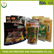 2014 New product Zipper top Plastic packaging stand up pouch,Plastic grocery bag