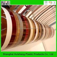 plastic pvccountertop edge banding strip for decorative furniture